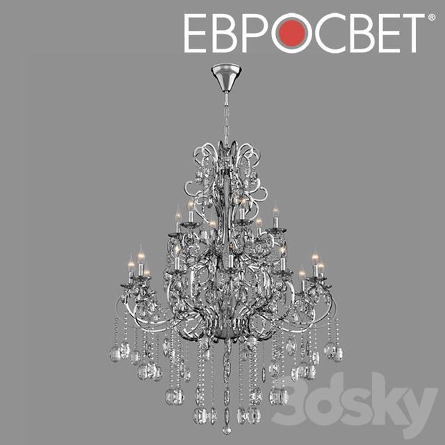 OM Chandelier with Bogate's Crystal 253/18 Strotskis