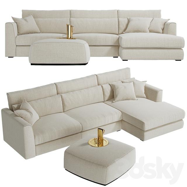 sofa CTS SALOTTI Poltrone Divani Gold
