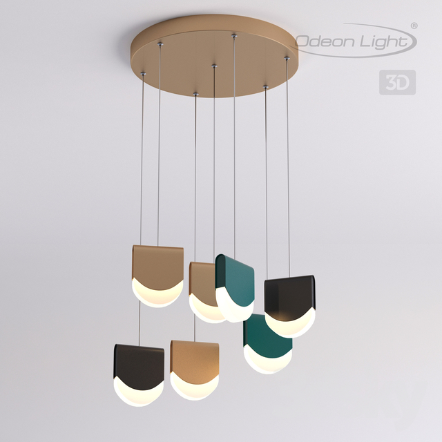 Pendant light ODEON LIGHT 3861 / 40L REBEL