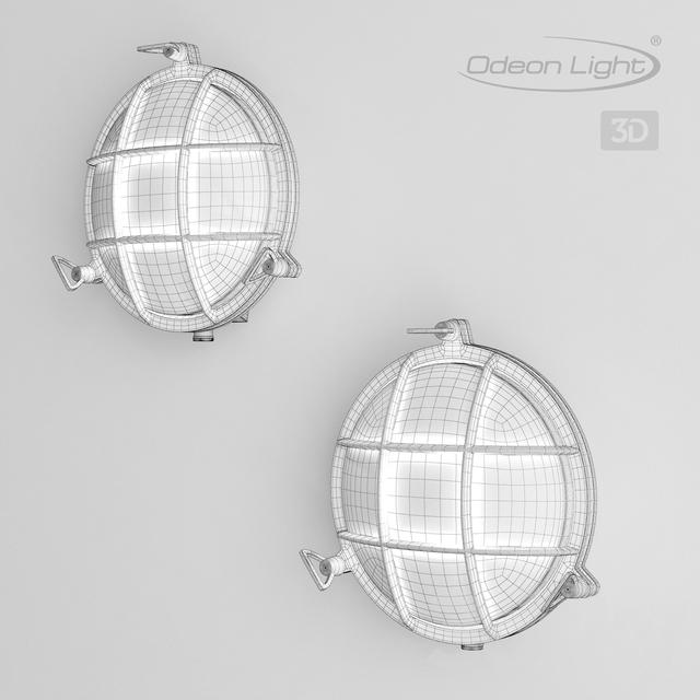 Wall light ODEON LIGHT 4129  1W, 4130  1W LOFI 3d model