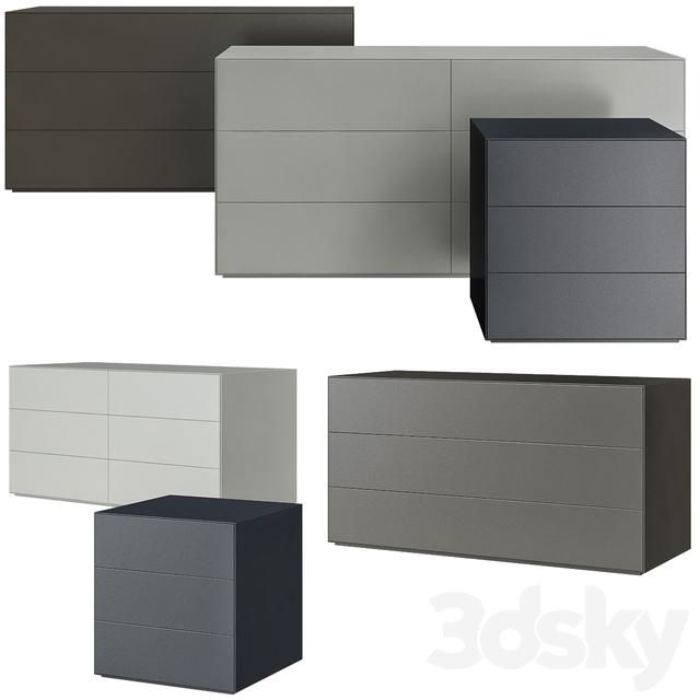 3d Models Sideboard Chest Of Drawer Glas Italia Magic Box