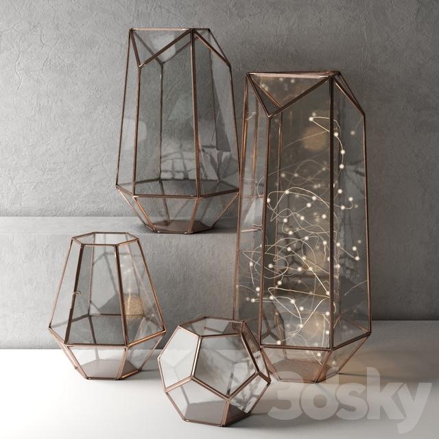 Lanterns Metalwork Hurricane