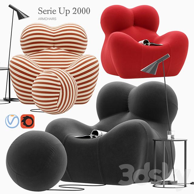 Serie Up 2000 armchair