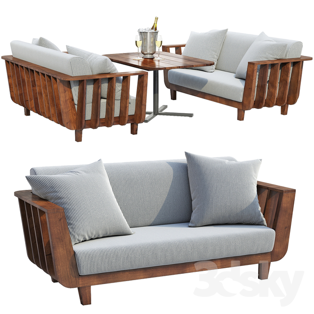Issho Outdoor furniture