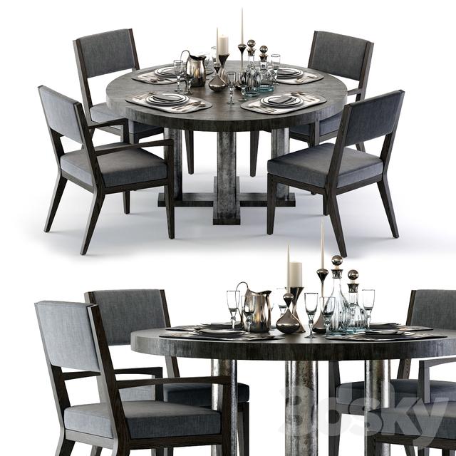 Bernhardt Linea Dining Set