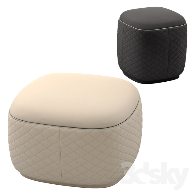 Bentley home dundee ottomans