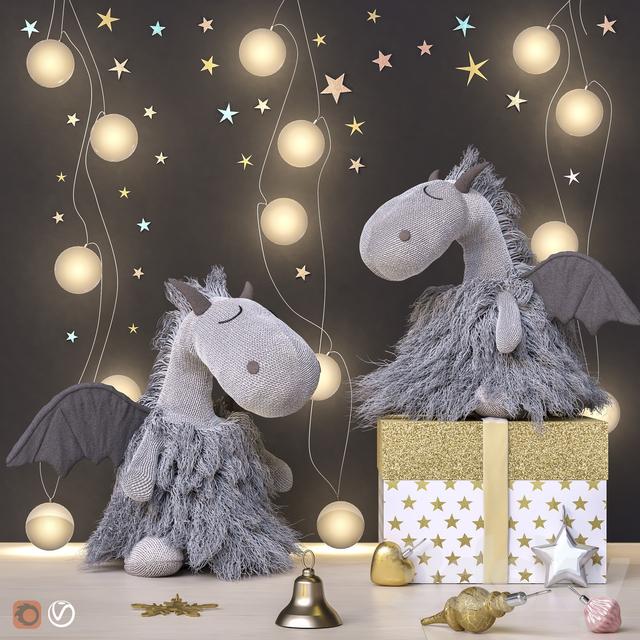 Toys and dekor set 42