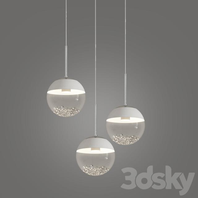 official photos d36c7 4ed34 3d models: Ceiling light - MONTEFIO 1 LED MULTI LIGHT ...