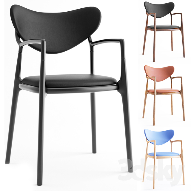 Salon Chair - Beech Black by True North Designs