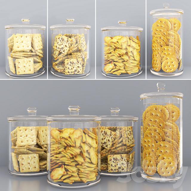 Cracker jars