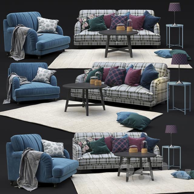 Astounding 3D Models Sofa Ikea Stocksund Set Dailytribune Chair Design For Home Dailytribuneorg