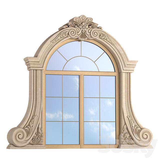3d Models Windows Classic Window Frame