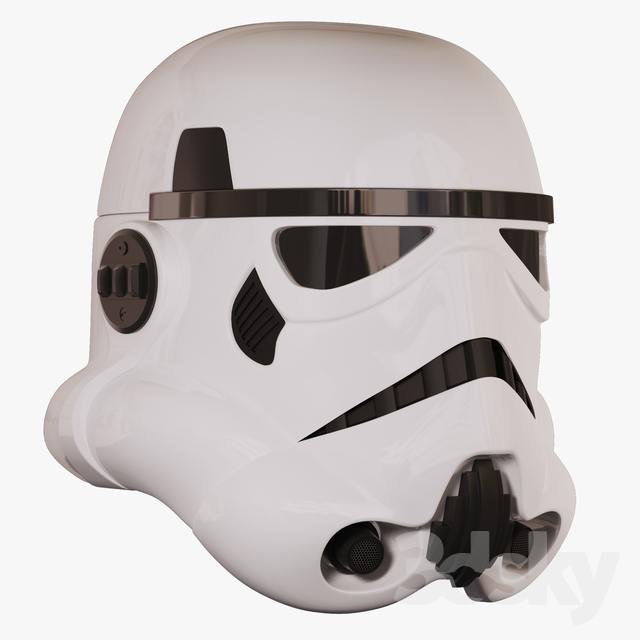 Imperial attack aircraft helmet (Star Wars)