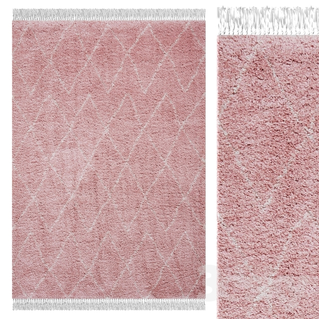 Carpet Think Rugs Boho 8280 Rose