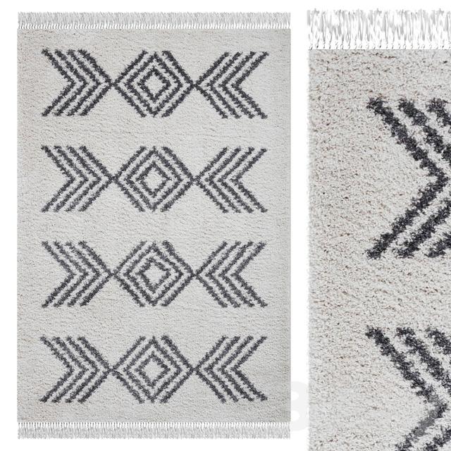 Carpet Think Rugs Boho 8886 Cream / Gray