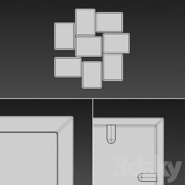 6bc4e06a04e 3d models  Frame - IKEA Vaxbo Collage 02