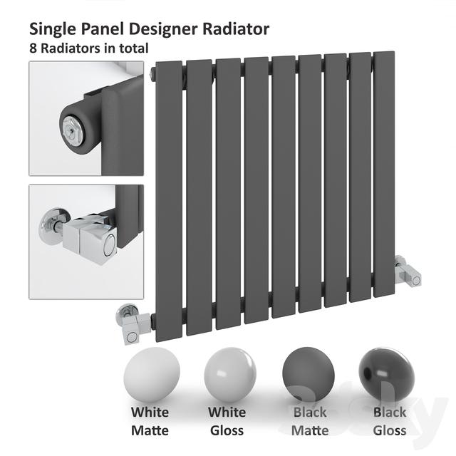 Single Panel Radiator - Milano Alpha Radiator