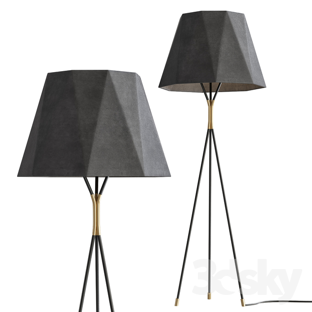 Models Floor Lamp 13309 By Usona