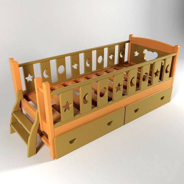 Mishutka crib