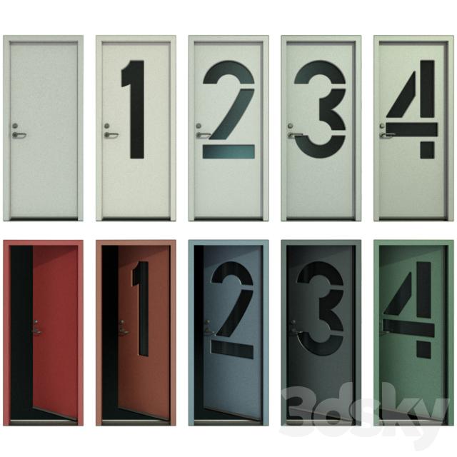 Door with numbers (Part I)
