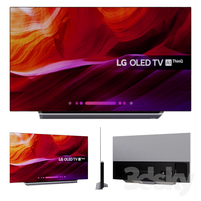 LG OLED TV 4K Ultra HD HDR Dolby Vision 55 '' 65 ''