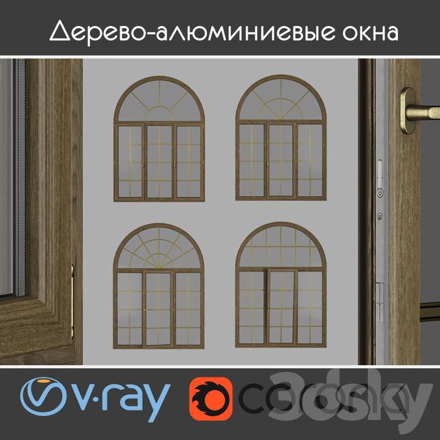 Wood - aluminum windows, view 04 part 02 set 09
