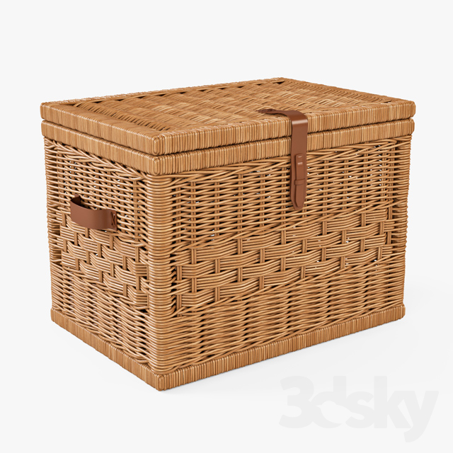 Wicker Chest / Natural Color