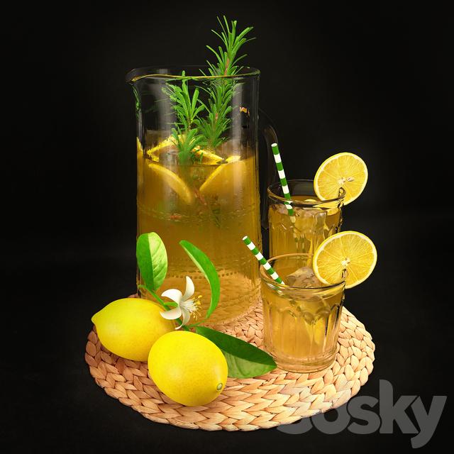 Lemon Decorative Set 00