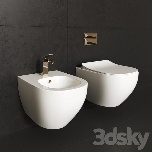 Miraculous 3D Models Toilet And Bidet Creavit Free Forskolin Free Trial Chair Design Images Forskolin Free Trialorg