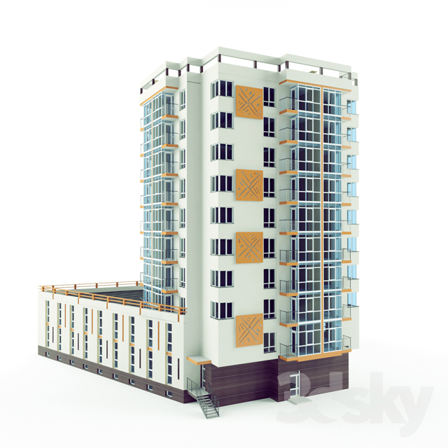 Multi-storey residential building