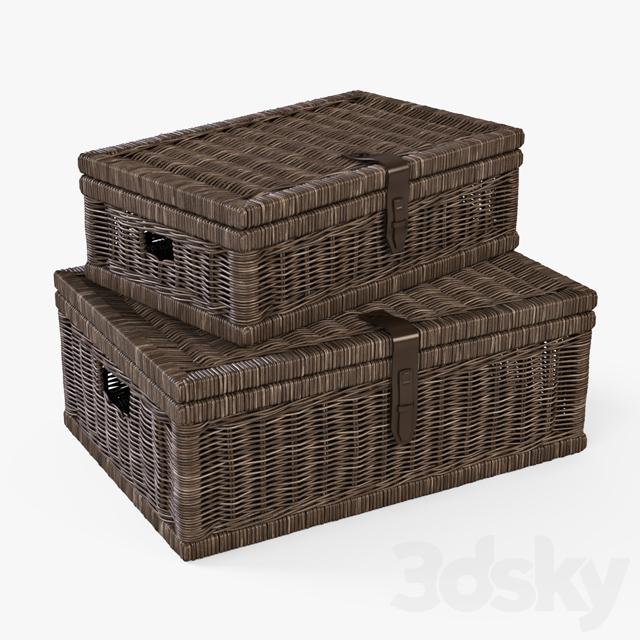 Basket 006 / Brown