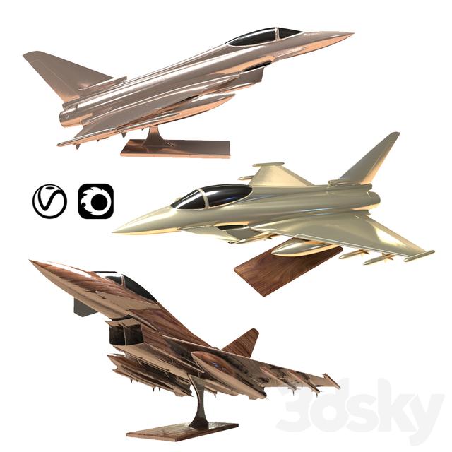 Eurofighter Typhoon Jet Aircraft Decoration