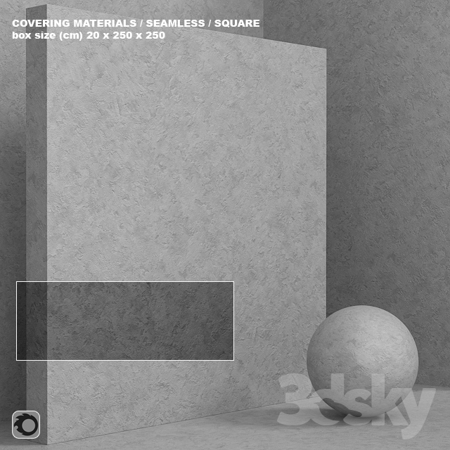 Material (seamless) - concrete plaster set 109