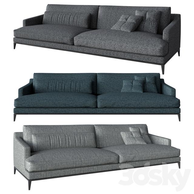 Divani Poliform.3d Models Sofa Poliform Divani Bellport