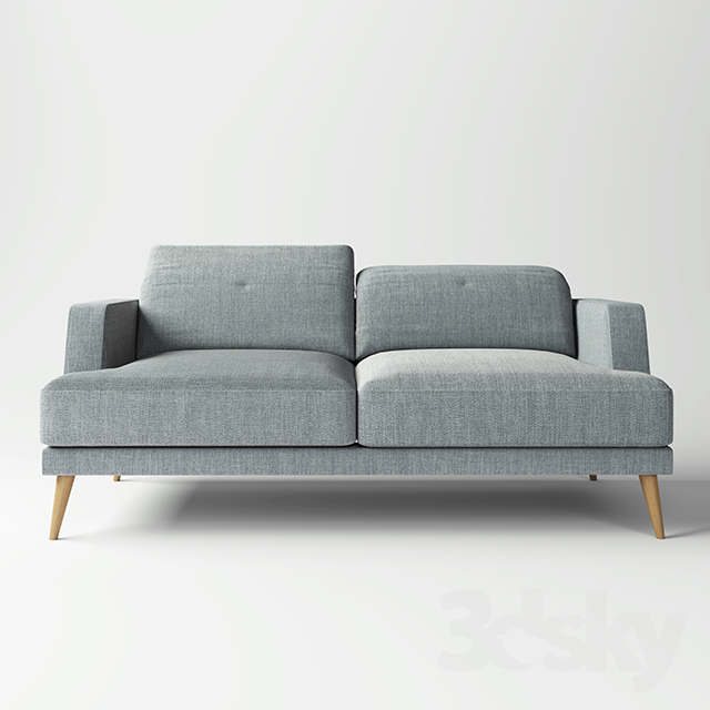 3d models Sofa Maisons du monde sofa