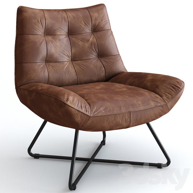 Excellent 3D Models Arm Chair Aubrey Lounge Chair Creativecarmelina Interior Chair Design Creativecarmelinacom