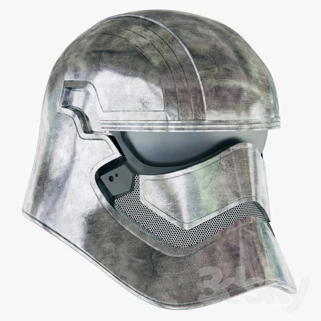 First Order Captain Phasma Helmet