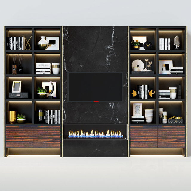 Modern fireplace 17