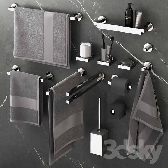 Keuco Edition 90 bathroom accessories