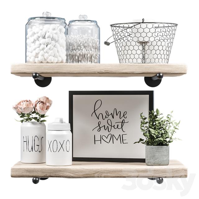 Farmhouse bath decor - Set_1