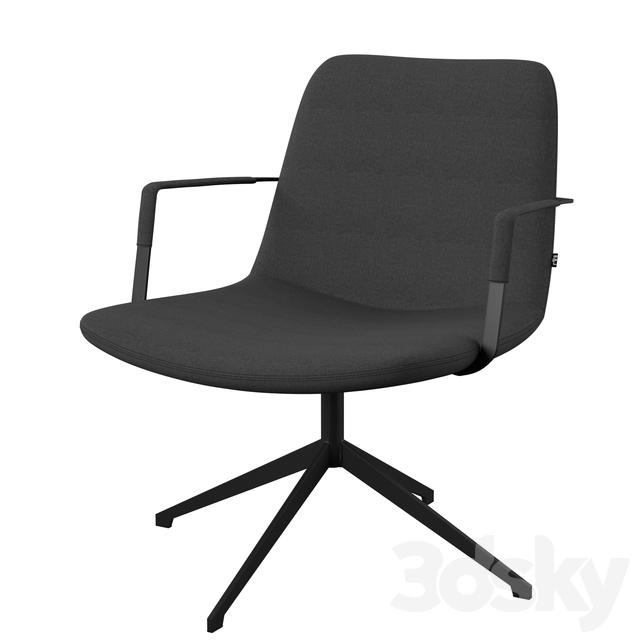 Remarkable 3D Models Arm Chair Fechteler Swivel Guest Chair Theyellowbook Wood Chair Design Ideas Theyellowbookinfo