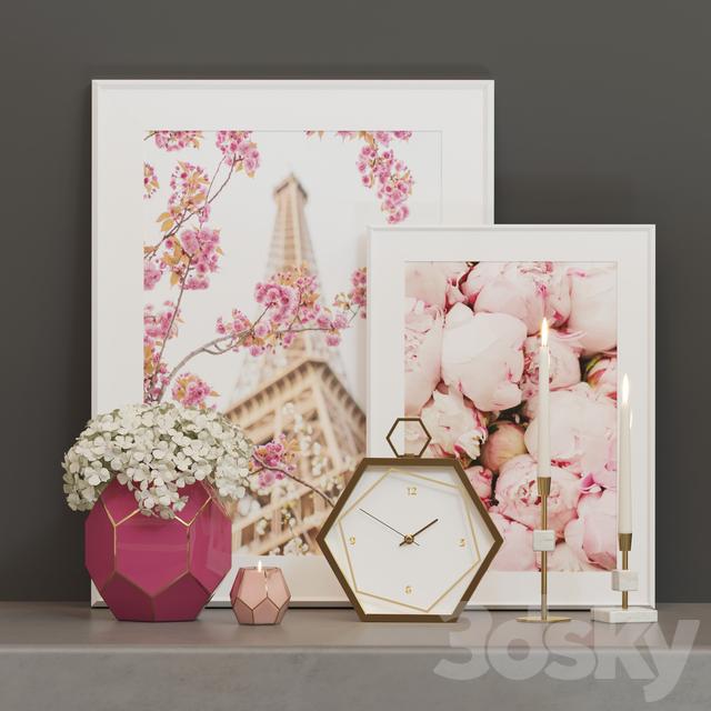 Decorative Paris set