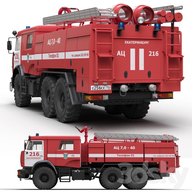 ATs7-40 tank truck