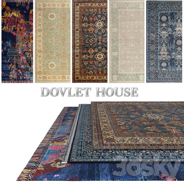Carpets DOVLET HOUSE 5 pieces (part 399)