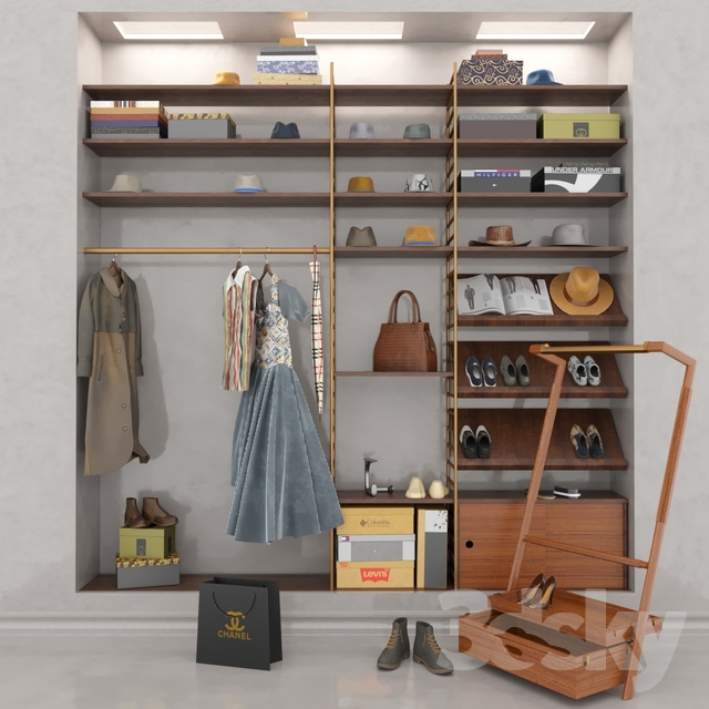 Wardrobe_IKEA Model
