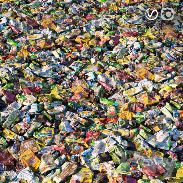 Garbage material