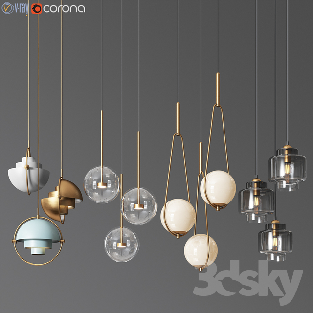 Ceiling Light Collection 8 - 4 Type