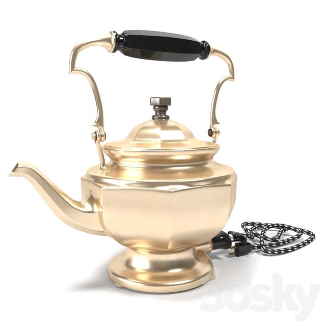 Electric antique kettle