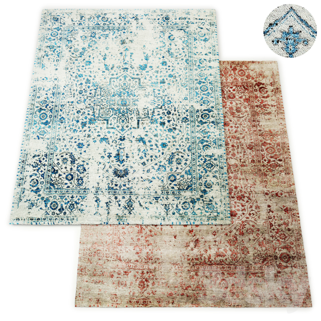 Indra Hand-Knotted Rug RH Collection