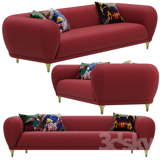 Roche Bobois MONTGOLFIERE Large 4-seat sofa